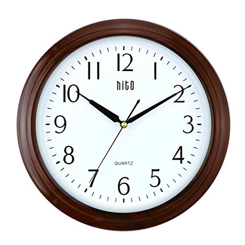hito-extra-large-silent-non-ticking-wall-clock-glass-cover-13-inches-wood