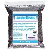 CCnature French Lavender Flowers USDA Organic Dried Culinary Lavender 4oz