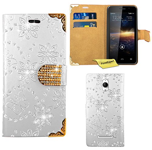 vodafone-smart-4-turbo-funda-foneexpertr-diamante-bling-wallet-flip-billetera-carcasa-cover-case-fun