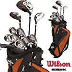 Wilson X31 MOI Golf Club Set Steel Sh...