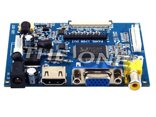 Pcduino Raspberry Pi Cubieboard 7Inch Digital Lcd Screen Displays The Hdmi + Vga + 2Av