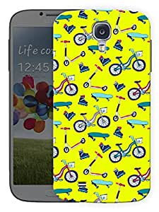 """Humor Gang Kids Cycles Cute Printed Designer Mobile Back Cover For """"Samsung Galaxy S4 Mini"""" (3D, Matte, Premium Quality Snap On Case)"""