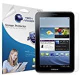 "Tech Armor Samsung Galaxy Tab 2 7"" Premium High Definition (HD) Clear Screen Protector with Lifetime Replacement Warranty [3-Pack] - Retail Packaging"