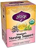 Yogi Woman's Nursing Support Tea, 16 Tea Bags (Pack of 6)
