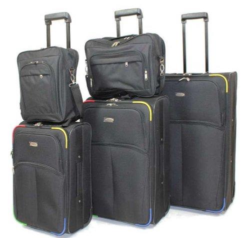 Kofferset - Koffer - Trolley 5-teilig - Allrounder