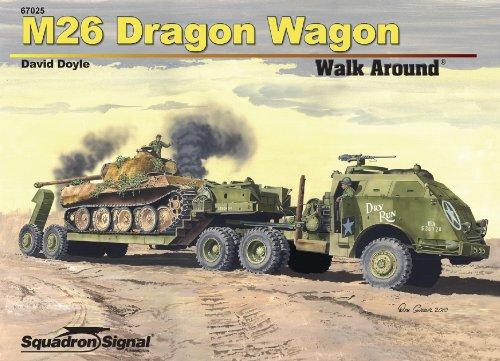 Squadron Signal Publications M26 Dragon Wagon Walk Around Book (Tank Transporter compare prices)