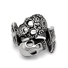buy Love Will Never Change Until Death Skull Ring To The Most Precious Love Sa408 Siz-7