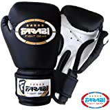 4oz Kids Boxing Gloves Junior Mitts mma Synthetic Leather Sparring Gloves Black