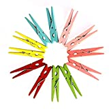 Dazzling Toys Bright Colored Clothespins - 50 Pieces (D058)
