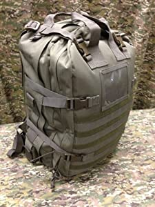 Fully Stocked Stomp Medical First Aid Kit Back Pack - OD Green by Stomp Medical Kit