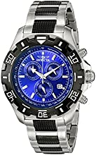 Invicta Men39s 6408 Python Collection Chronograph Stainless Steel and Gun Metal Watch