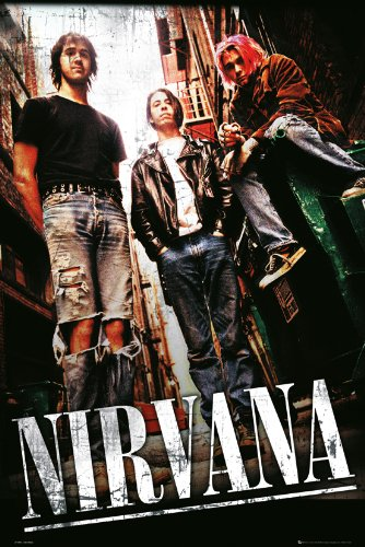 GB eye LTD, Nirvana, Alley, Maxi Poster, 61 x 91,5 cm
