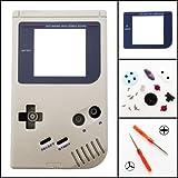Full Housing Shell for Original Nintendo DMG-01 GameBoy (1989) Gray Color (Color: Gray)