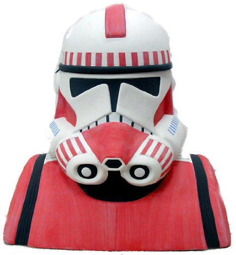 Star Wars Collectible Cookie Jar Shock Trooper