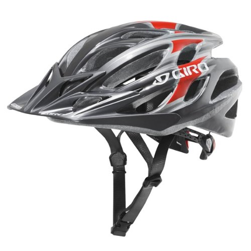 Buy Low Price Giro E2 Bike Helmet – GUN METAL / RED (B002PLCE4C)
