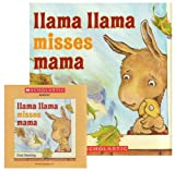 Llama Llama Misses Mama (CD & Paperback)