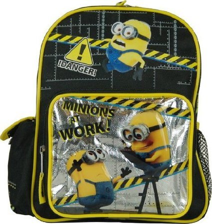 "AI Despicable Me 2 Minion Jerry Toddler 10"" Backpack - 1"