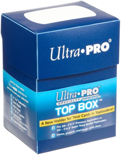 Top Box: Blue Deck Box (Holds 30 Toploaders) - 1