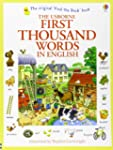 First Thousand Words In English (Usbo...