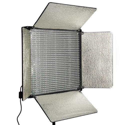 Cowboystudio 1000 Led 5500K Professional Video Studio Portrait Led Light Panel Lighting Bank Light For Photo And Video