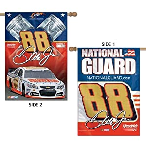 NASCAR Dale Earnhardt Jr. 28 x 40-Inch Two-Sided Vertical Banner by WINAV
