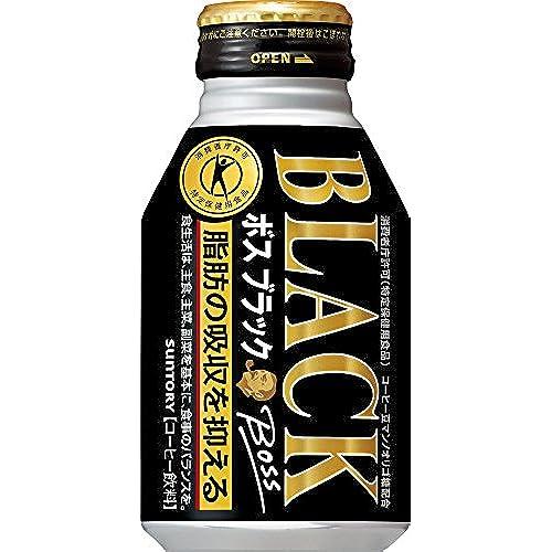 [일본 산토리 보스 캔커피 / SUNTORY BOSS COFFEE] 보스 블랙 280ml보틀관×24개