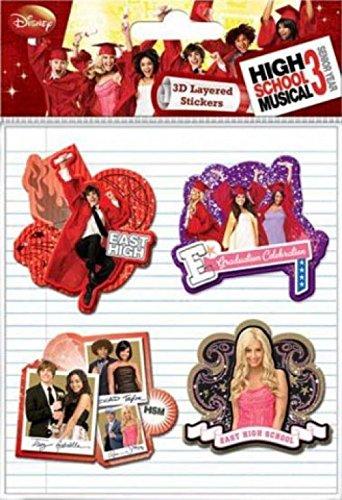 high-school-musical-paquet-de-stickers-3-3d-stickers-paquet-15-x-10-cm