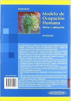 Modelo de la ocupacion humana / Model of human occupation