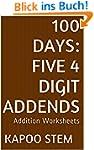 100 Days Math Addition Series: Five 4...