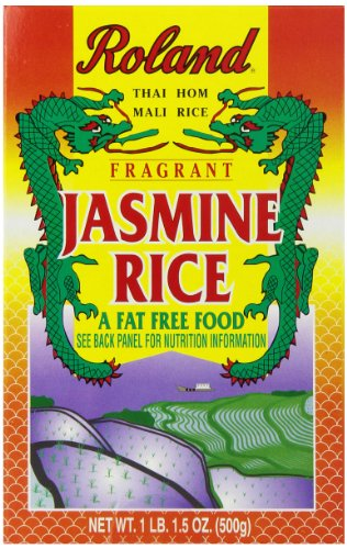 Roland Jasmine Rice, 17.5 Ounce (Pack of 12) (Roland Basmati Rice compare prices)