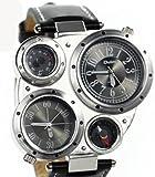 oulm 腕時計 各3色 (ブラック)