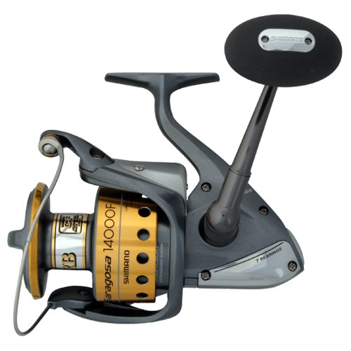 offshore reel shimano saragosa spinning reels srg14000f