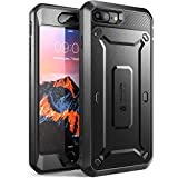 iPhone 7 Plus Case, SUPCASE Full-body Rugged Holster Case with Built-in Screen Protector for Apple iPhone 7 Plus (2016 Release), Unicorn Beetle PRO Series - Retail Package (Black/Black)