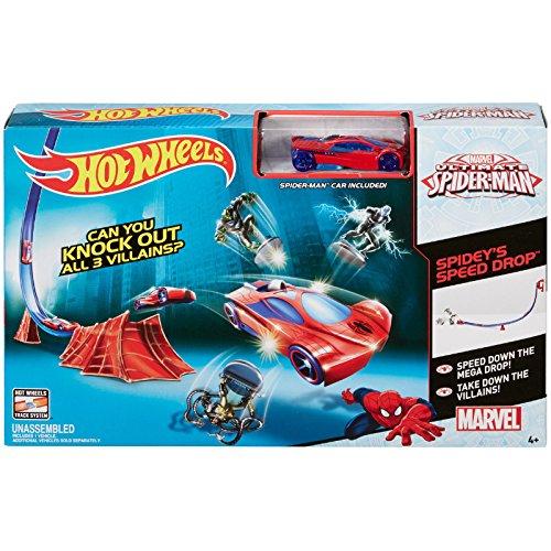 hot-wheels-marvel-spider-man-spideys-speed-drop-track-set-by-hot-wheels
