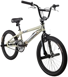 Mongoose Spin BMX Freestyle Bike (20-Inch Wheels)