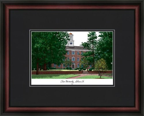 Ohio University Academic Academic Framed & Matted 18x14 Lithograph