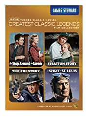 TCM Greatest Classic Legends: James Stewart (The Shop Around the Corner / The Stratton Story / The FBI Story / The Spirit of St. Louis)