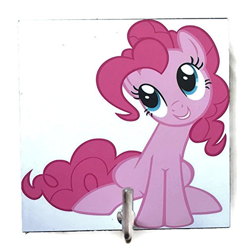 agility-bathroom-wall-hanger-hat-bag-key-adhesive-wood-hook-vintage-white-my-little-pony-pinkie-pies