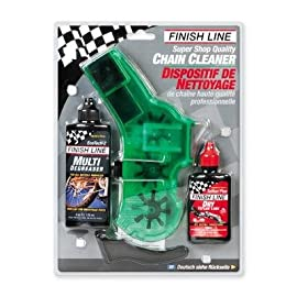 Finish Line Shop Quality Bicycle Chain Cleaner Kit - C29000101