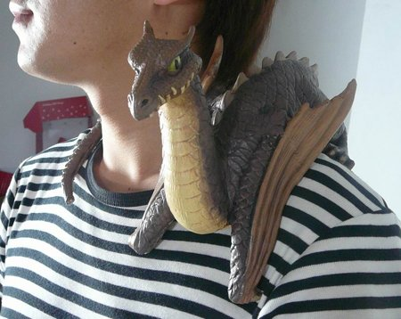 Baby Shoulder Dragon
