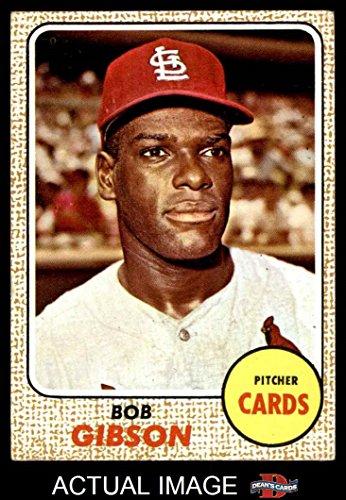 Bob Gibson 1968 Baseball Card