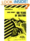 One Hundred Years of Solitude [Cliffs Notes Study] (Cliffsnotes Literature Guides)