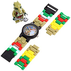 """LEGO Kids' 9000409 """"Legends of Chima Crawley"""" Watch With Minifigure"""