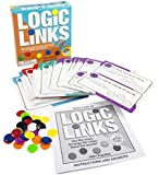 MindWare Logic Links Puzzle Box. Includes Over 160 Different Puzzles. Enhance Spatial Learning and Deductive Reasoning While Having Fun! For Ages 6 and Up