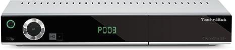TechniSat TechniStar S1+ - HD Satelliten Receiver (HDTV, DVB-S2, HDMI, SCART, PVR-Ready, USB 2.0, UPnP, Ethernet, HD+ Karte) silber