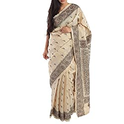 Kiara Crafts Tussar Silk Saree (kc-046_Multi)