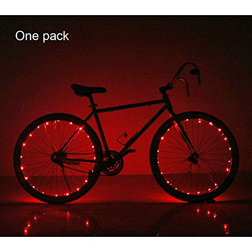 Soondar® Super-Bright 20-LED Bicycle Lights for Spokes and Frames in Five Colors (Light Bike Led compare prices)