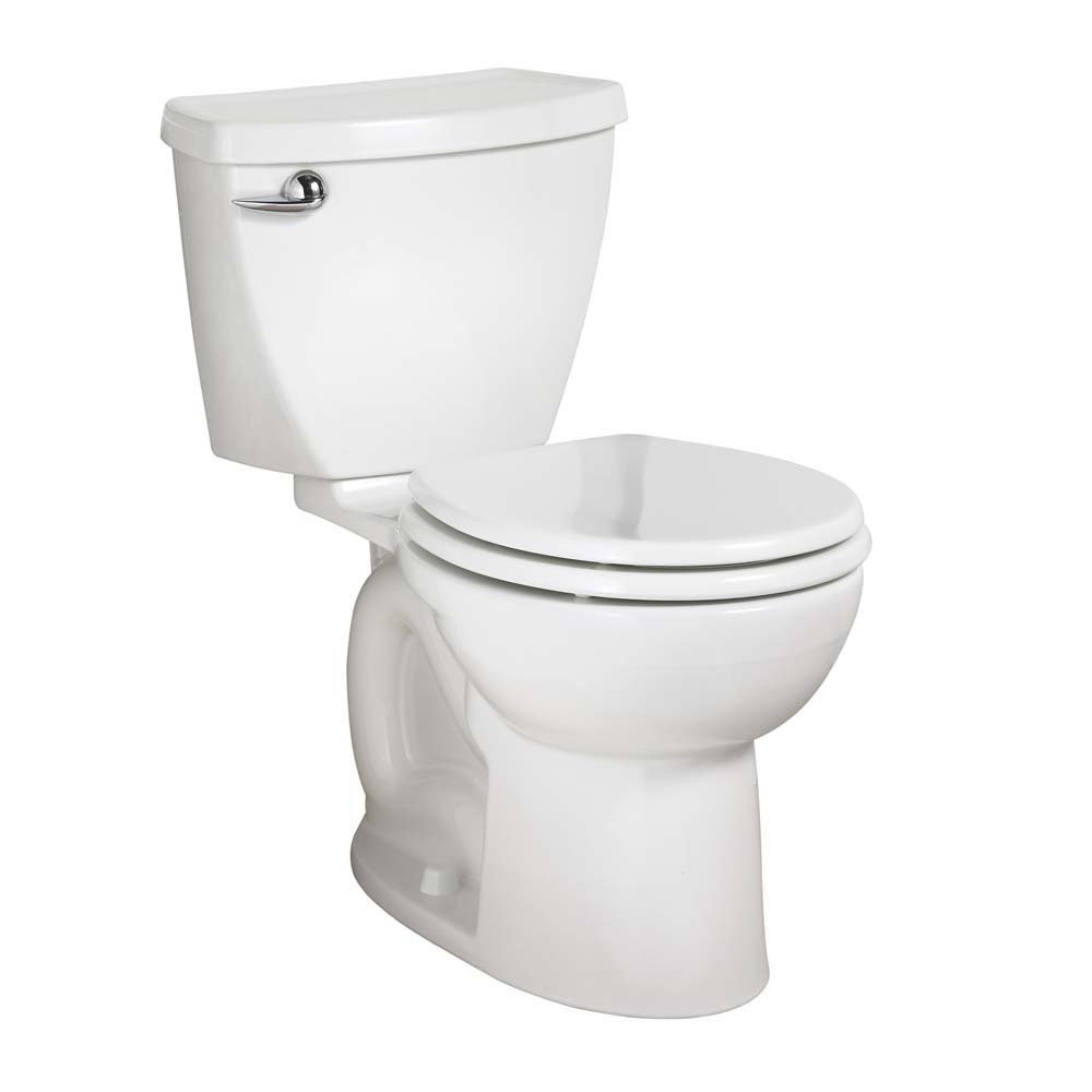 American Standard 270BB001.020 Cadet 3 Right Height Round Front Two-Piece Toilet