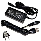 HQRP Fast Battery Charger for Razor Pocket Mod Bistro 15130638, Bella 15130610, Betty 15130661, Hello Kitty 15130664, AC Adapter Power Supply Cord Electric Scooter + Euro Plug Adapter
