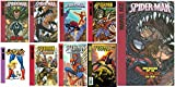 img - for Set of 9 Marvel Age Spider-man Hard Back Books - Library Binding book / textbook / text book
